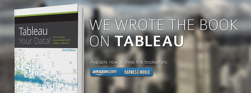 Tableau Your Data! | We wrote the book on Tableau