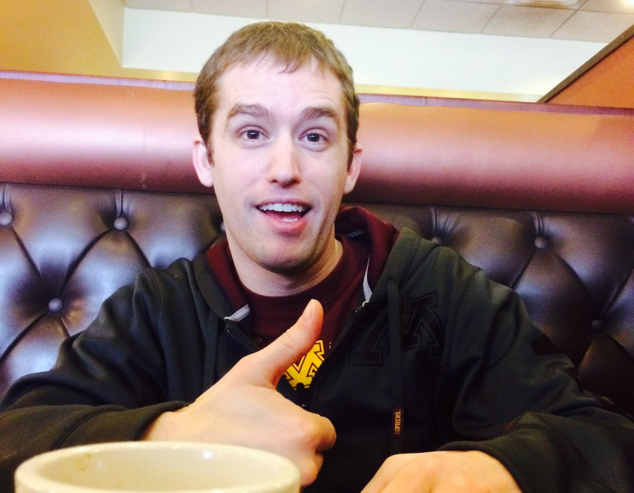 Breakfast with Jeff Mills from Tableau.