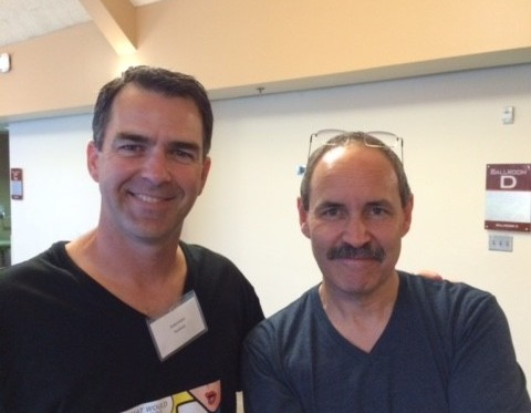 With Zen Master and friend, Andy Kriebel, for Data Driven talk in Santa Clara.