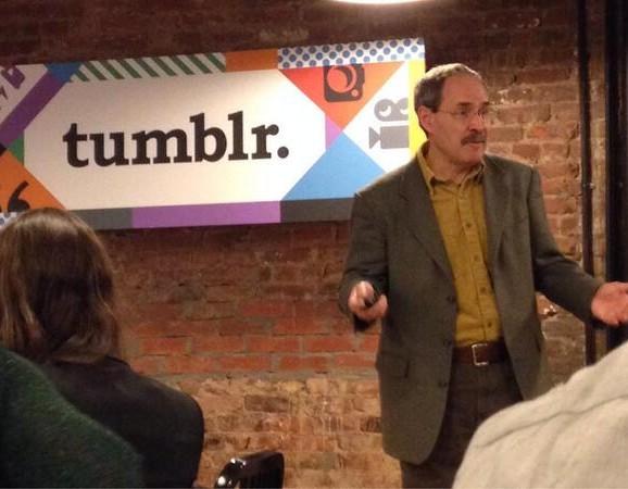 Talk at Tumblr in NYC.