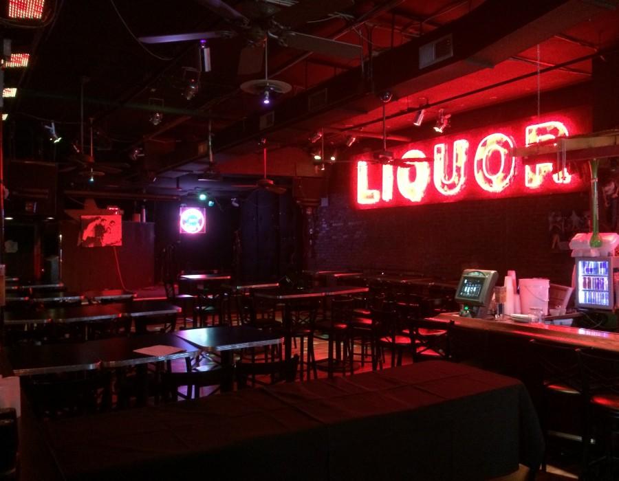 Blues club speaking venue in Memphis.