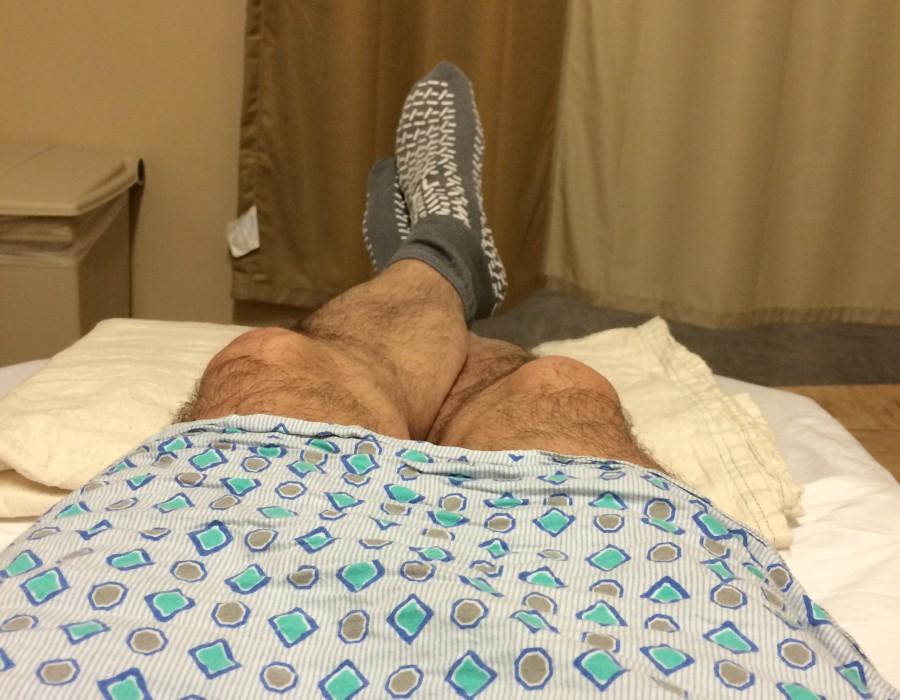 Pre-surgery.