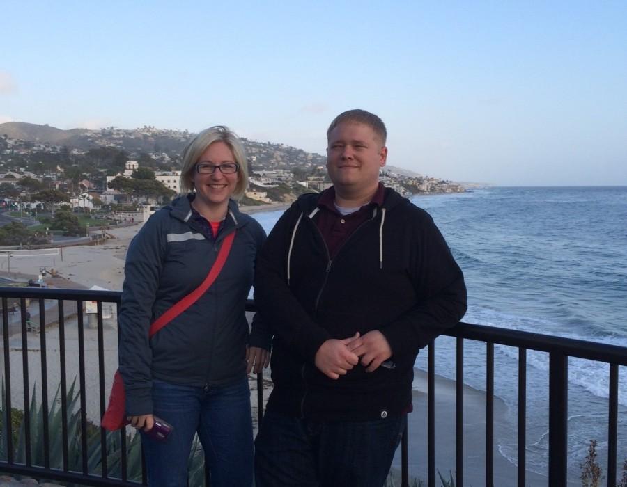 Tiffany and Brian at Alteryx training in CA.