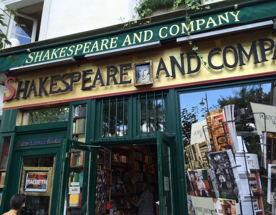 Shakespeare & Co. in Paris