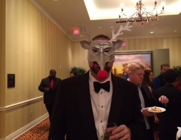 Will Joyce at the InterWorks Holiday Party.